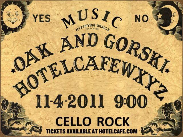 hotel cafe flyer