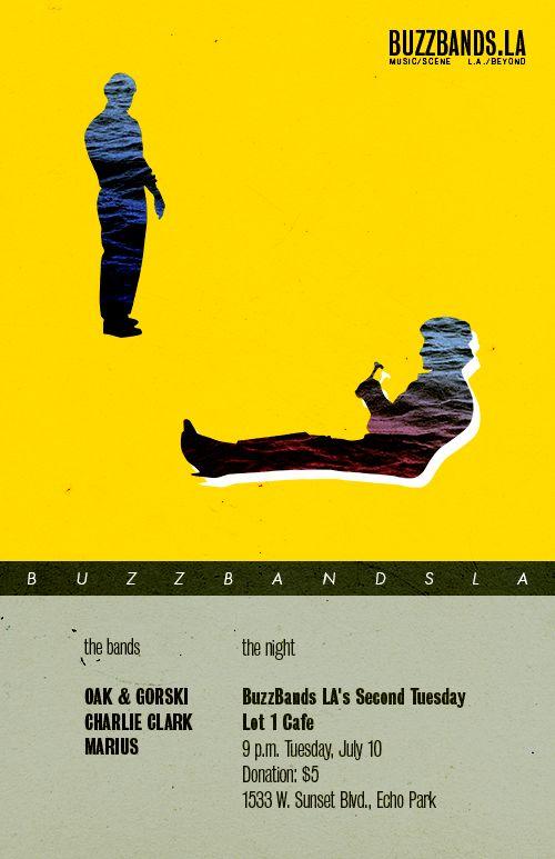 O&G headlining the BuzzBands LA showcase on July 10th!