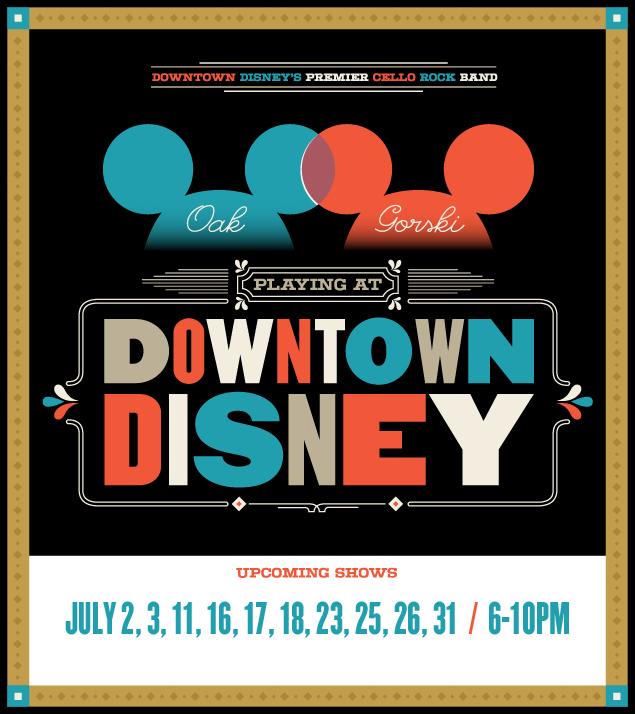 July at Disneyland!
