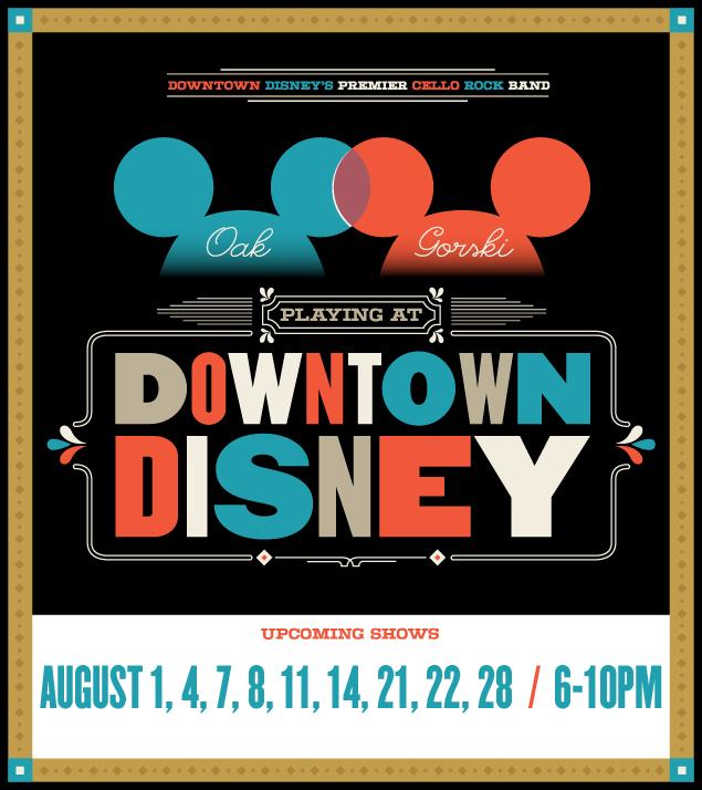 August Disney Dates!