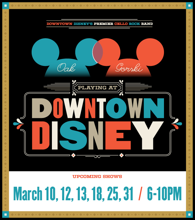 March Disney dates!!!